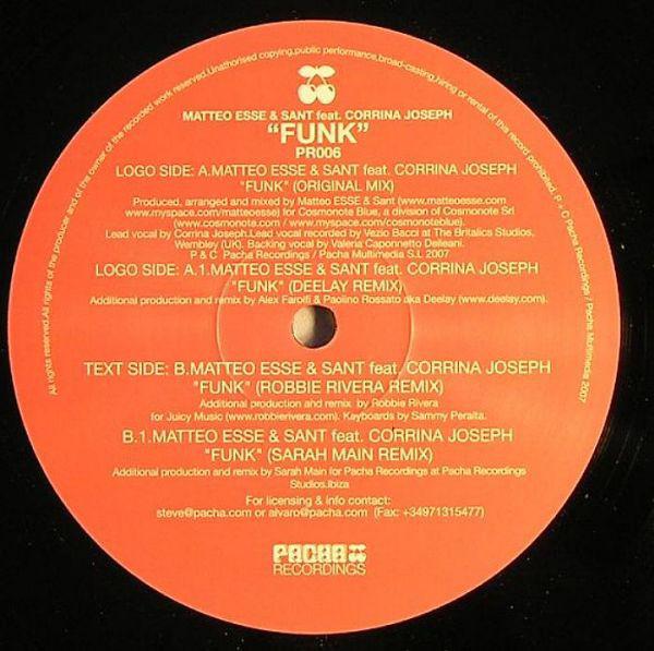 Matteo Esse & Sant Feat. Corrina Joseph - Funk