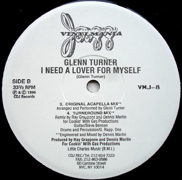Glenn Turner - I Need A Lover For Myself