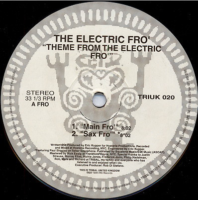 The Electric Fro - Theme From The Electric Fro