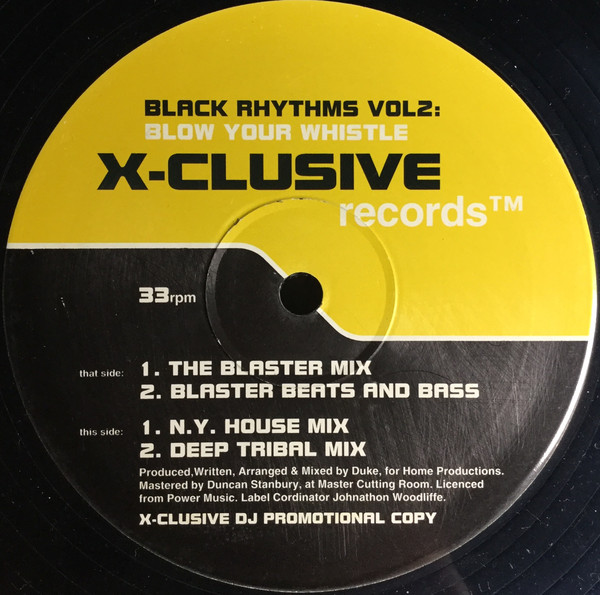 DJ Duke -  Black Rhythms Vol. 2 - Blow Your Whistle