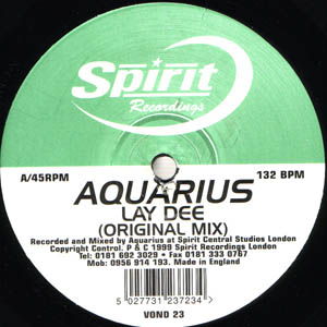 Aquarius - Lay Dee / Space Dub