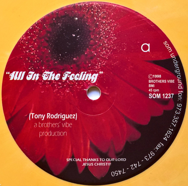 Tony Rodriguez - All In The Feeling / From Dusk Till Dawn