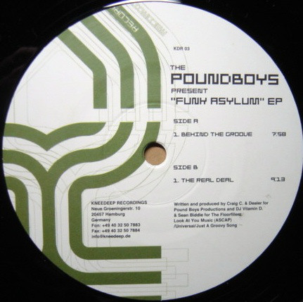 Pound Boys - The Funk Asylum EP
