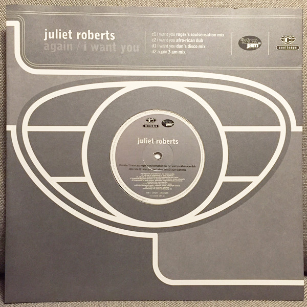 Juliet Roberts - Again / I Want You