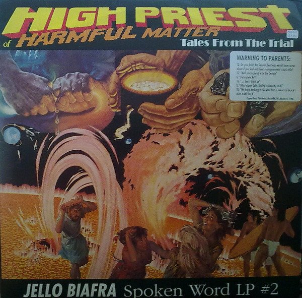 Jello Biafra - High Priest Of Harmful Matter