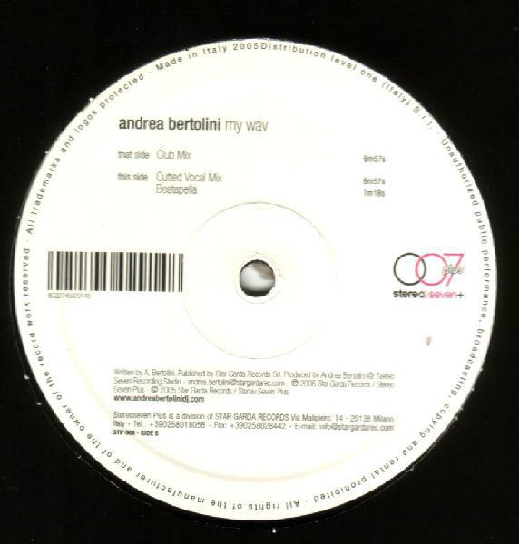 Andrea Bertolini - My Wav