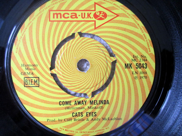 Cats Eyes - Come Away Melinda / Cirrus