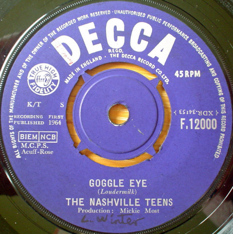 The Nashville Teens - Goggle Eye