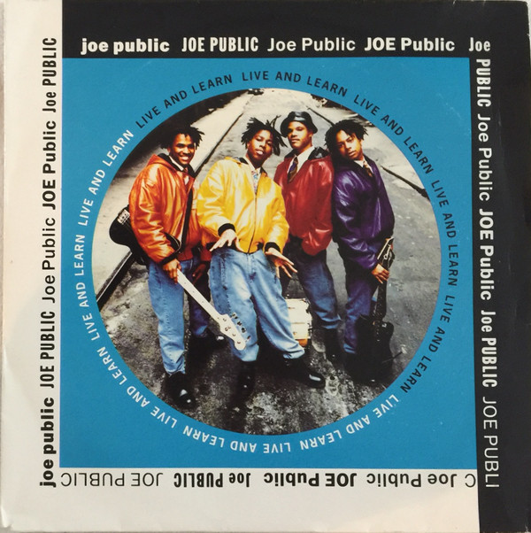 Joe Public - Live And Learn