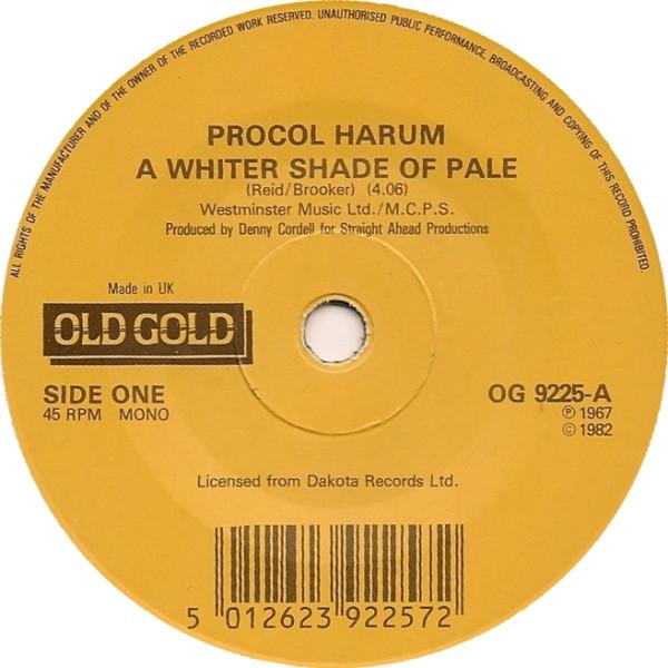 Procol Harum - A Whiter Shade Of Pale / Homburg