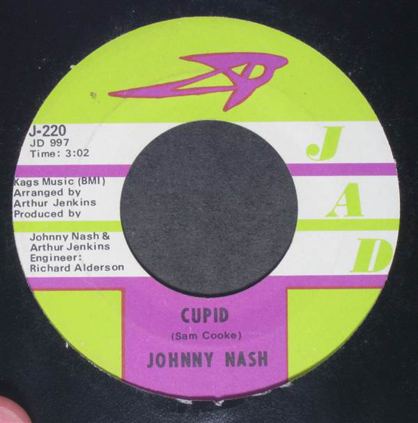 Johnny Nash - Cupid / People In Love