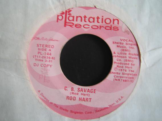 Rod Hart - C. B. Savage