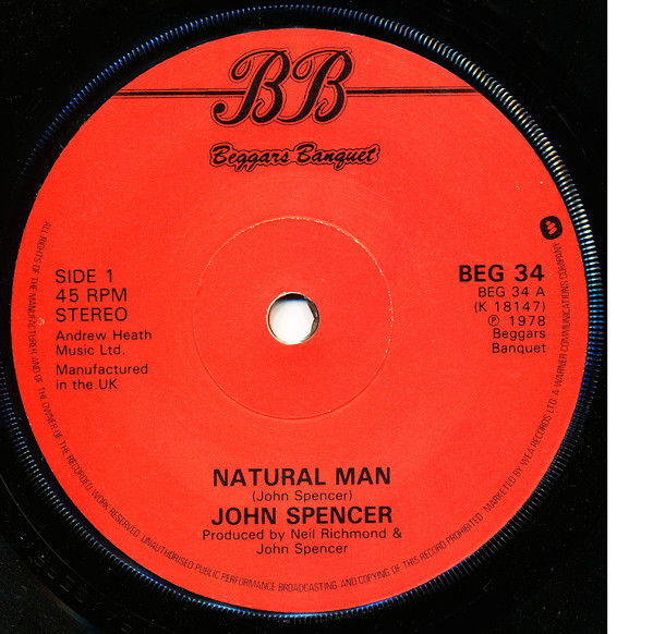 John Spencer - Natural Man