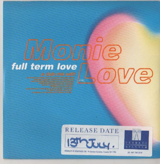 MONIE LOVE - Full Term Love - 7inch x 1