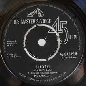 Kyu Sakamoto - Sukiyaki (Ue O Mui Te Aruko)