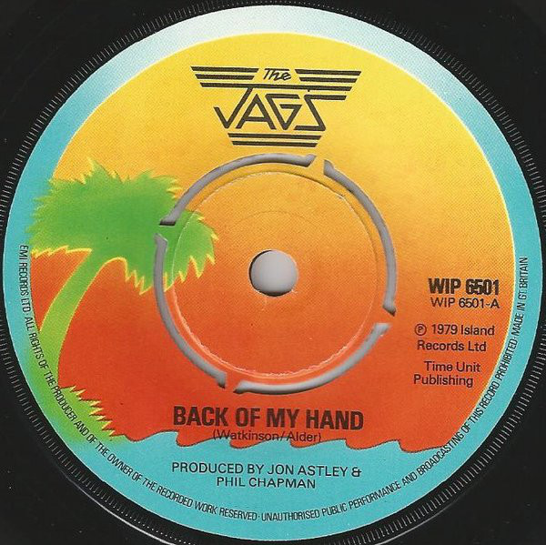 The Jags - Back Of My Hand