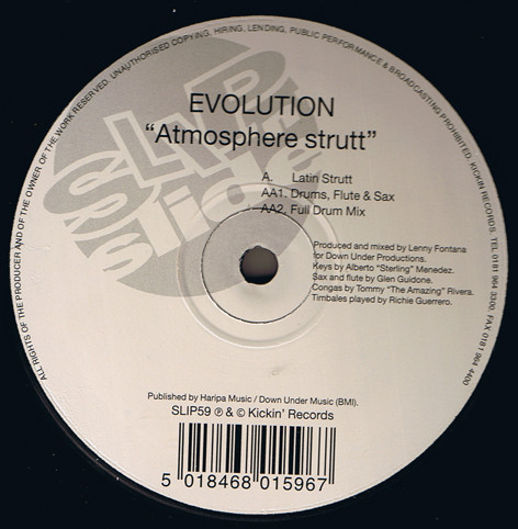EVOLUTION - ATMOSPHERE STRUTT