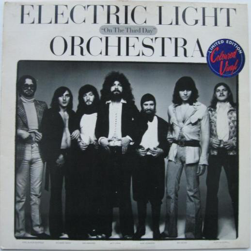 Electric Light Orchestra - On The Third Day (Clear Vinyl)