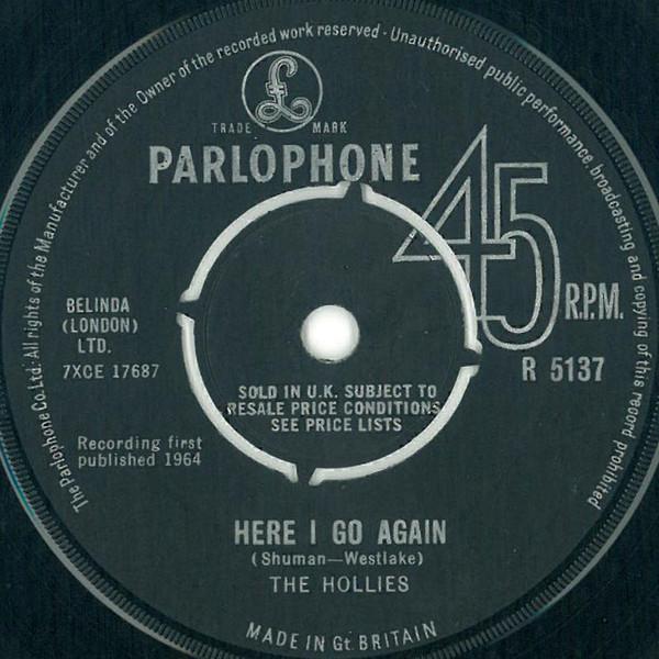 The Hollies - Here I Go Again
