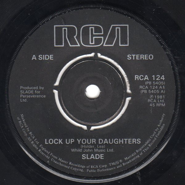 Slade - Lock Up Your Daughters