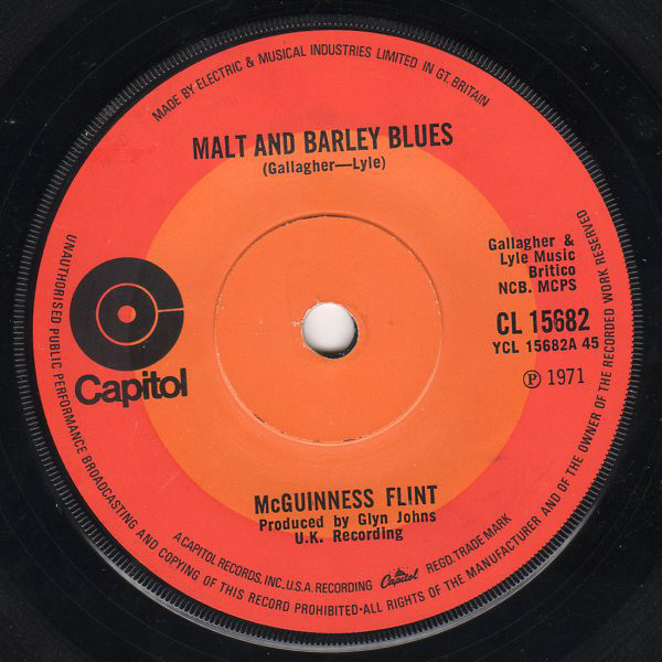 McGuinness Flint - Malt And Barley Blues