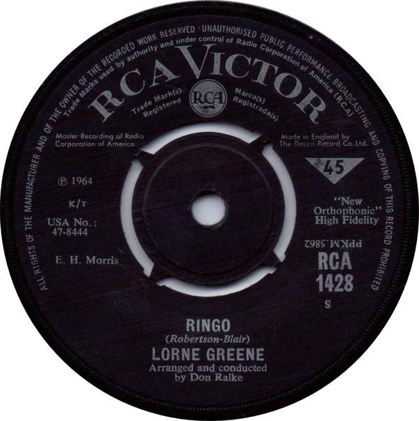Lorne Greene - Ringo / Bonanza