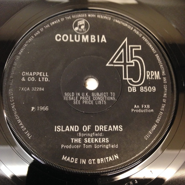 The Seekers - Island Of Dreams/Red Rubber Ball