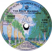 The Four Seasons - We Can Work It Out