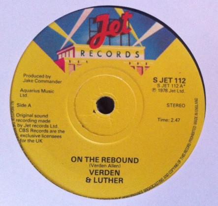 Verden & Luther - On The Rebound