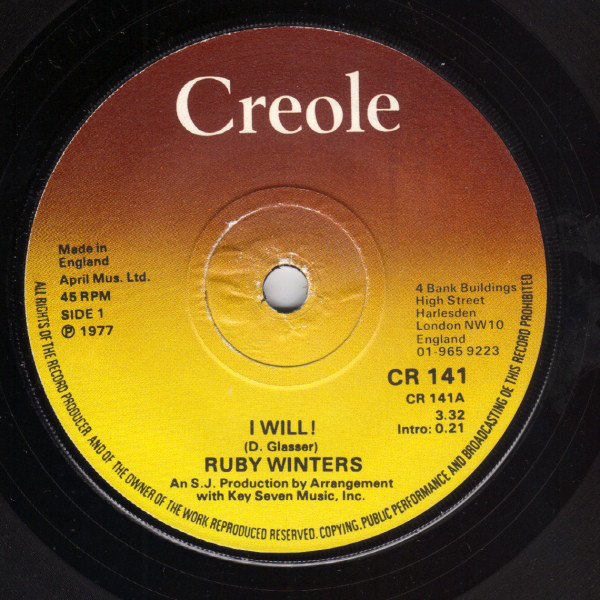 Ruby Winters - I Will!