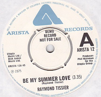 Raymond Tissier - Be My Summer Love