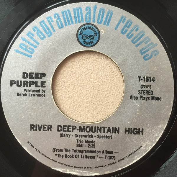 Deep Purple -  River Deep Mountain High / Listen, Learn, Read On