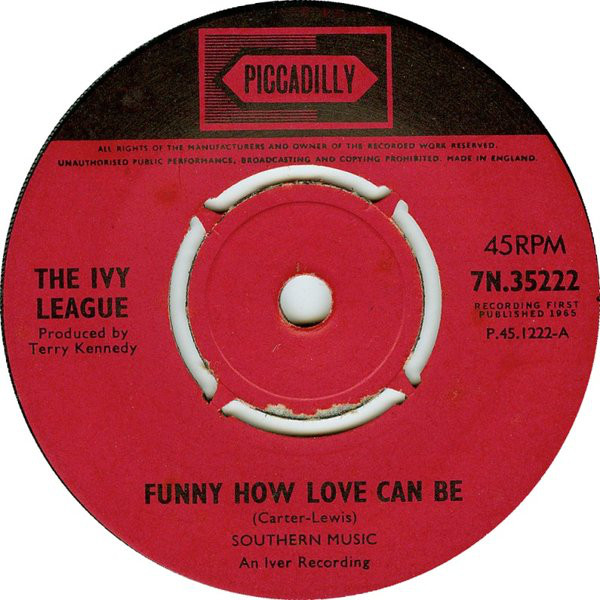 The Ivy League - Funny How Love Can Be