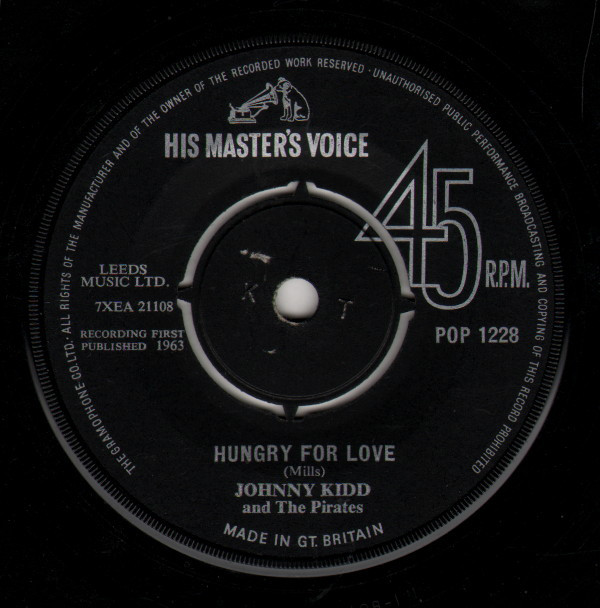 Johnny Kidd And The Pirates - Hungry For Love