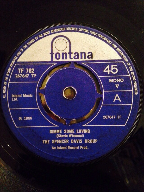 The Spencer Davis Group - Gimme Some Loving / Blues In F