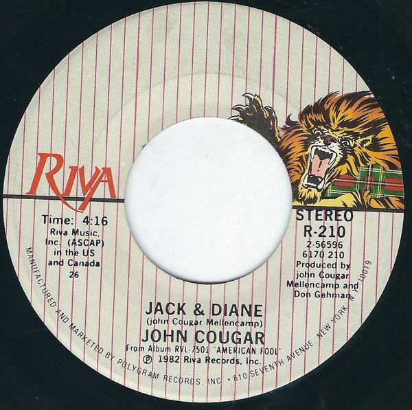 John Cougar - Jack & Diane / Can You Take It