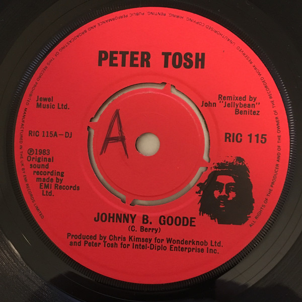 Peter Tosh - Johnny B. Goode / Peace Treaty