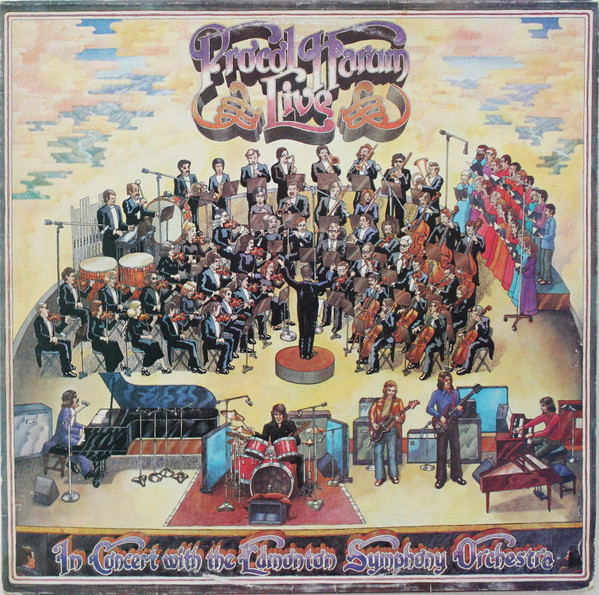 Procol Harum - Live - In Concert With The Edmonton Sym, Orch.