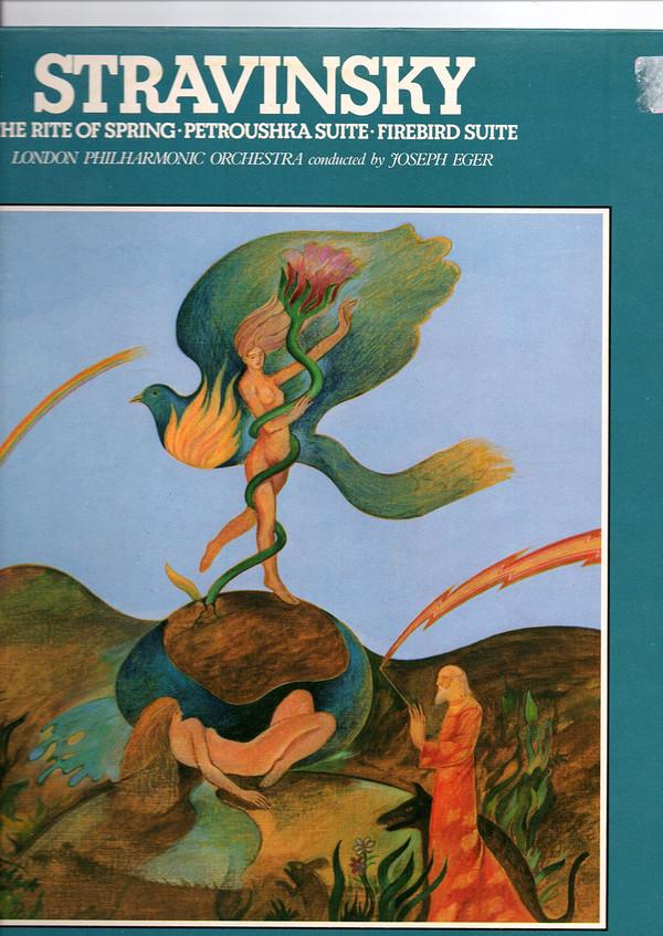 Stravinsky, The LPO  Joseph Eger - 20th Centry Classics - Stravinsky