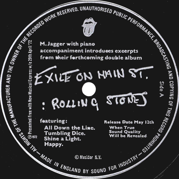 The Rolling Stones - Curved Air - Fanny - Untitled