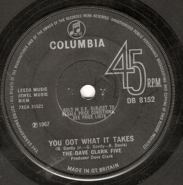 The Dave Clark Five - You Got What It Takes