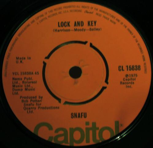 Snafu - Lock And Key