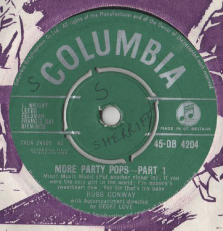 Russ Conway - More Party Pops