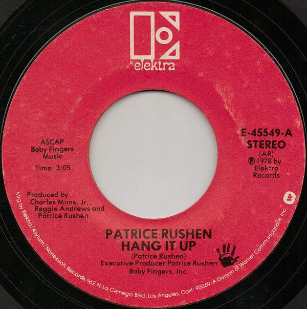 Patrice Rushen - Hang It Up