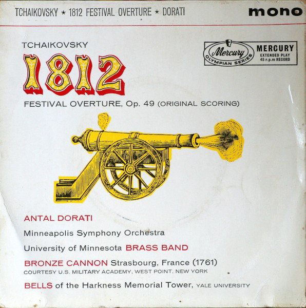 Tcha?kovsky, Antal Dorati, Minneapolis Symp. Orch. - 812 Festival Overture, Op. 49 (Original Scoring
