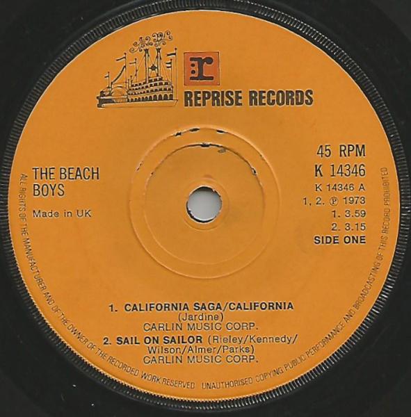 The Beach Boys - California Saga / California