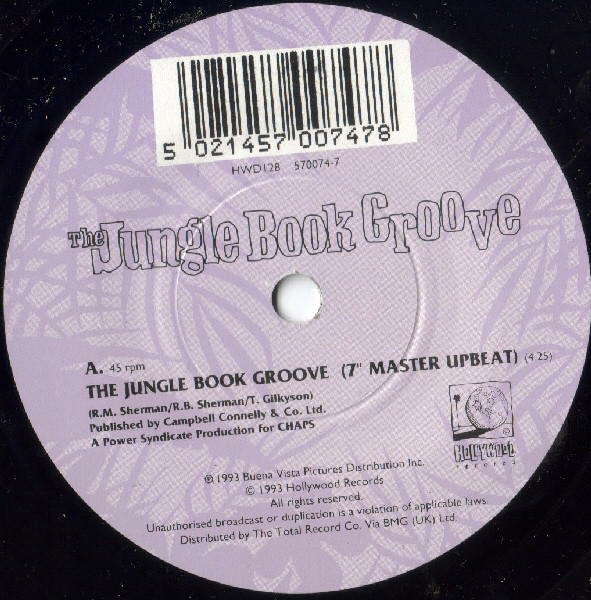 Disney Cast - The Jungle Book Groove