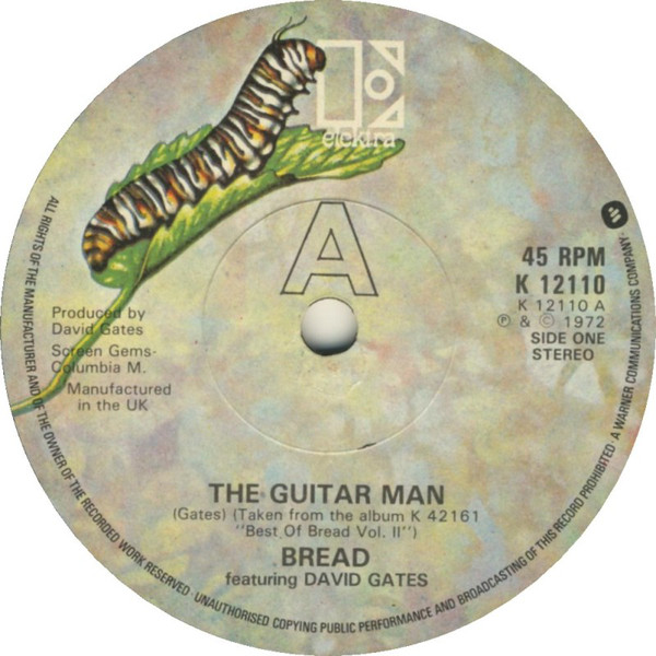 Bread Featuring David Gates - The Guitar Man