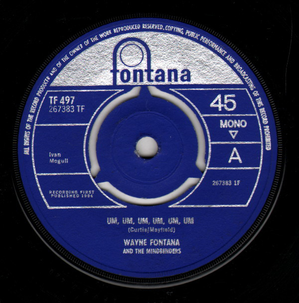 Wayne Fontana And The Mindbenders -  Um, Um, Um, Um, Um, Um
