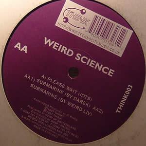 WEIRD SCIENCE - PLEASE WAIT / SUBMARINE